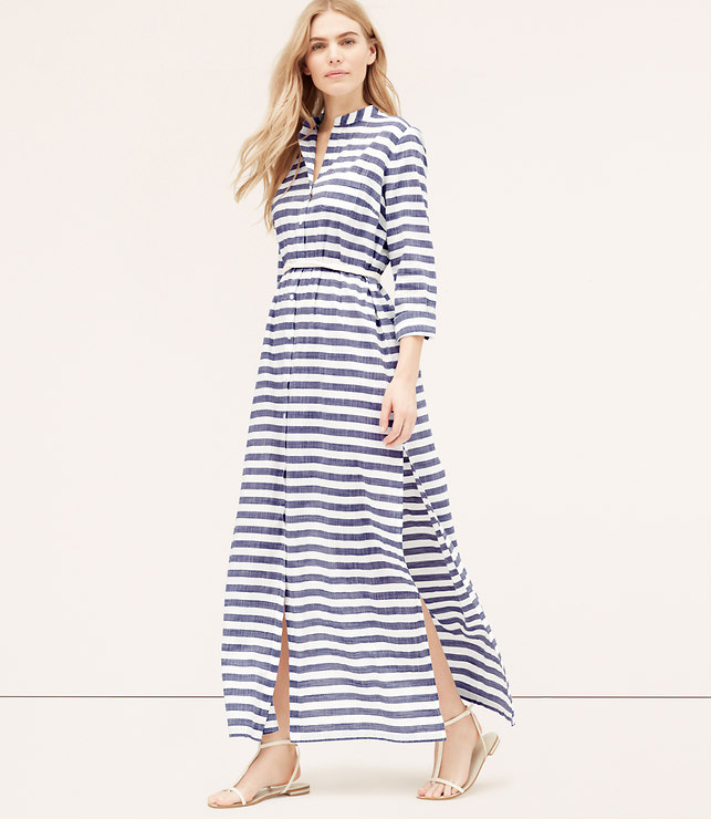 Styleimprimatur_Loft_Striped_Coverup_Maxi_Shirtdress_Runway_Product_Outfit_Fashion_Shopping_Blog2