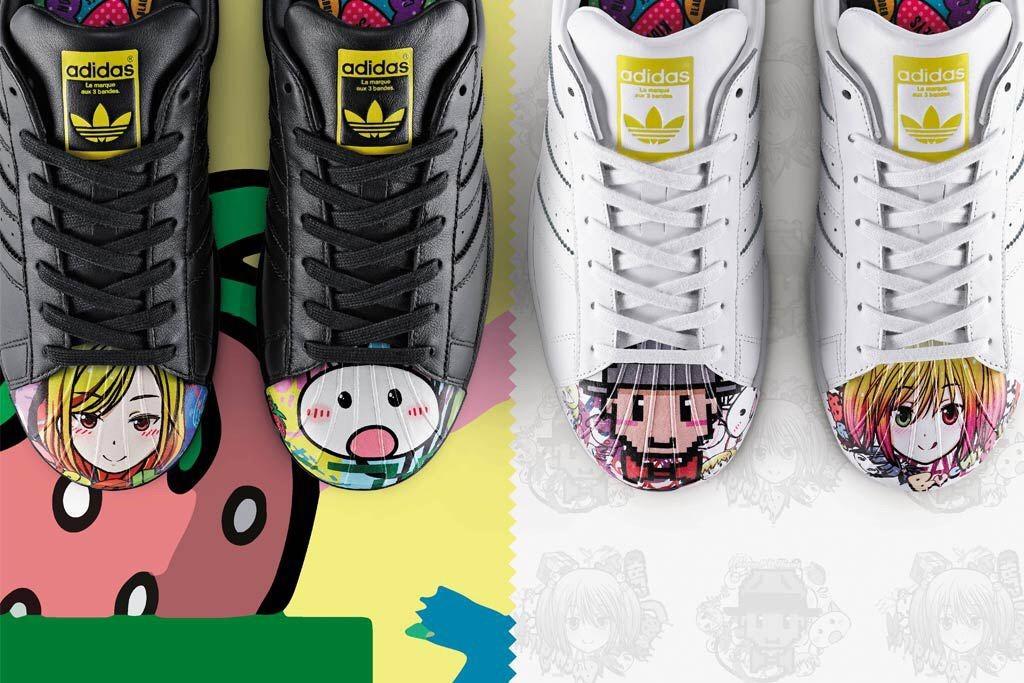 adidas Originals Mr. Supershell Superstar Black Anime | Buy