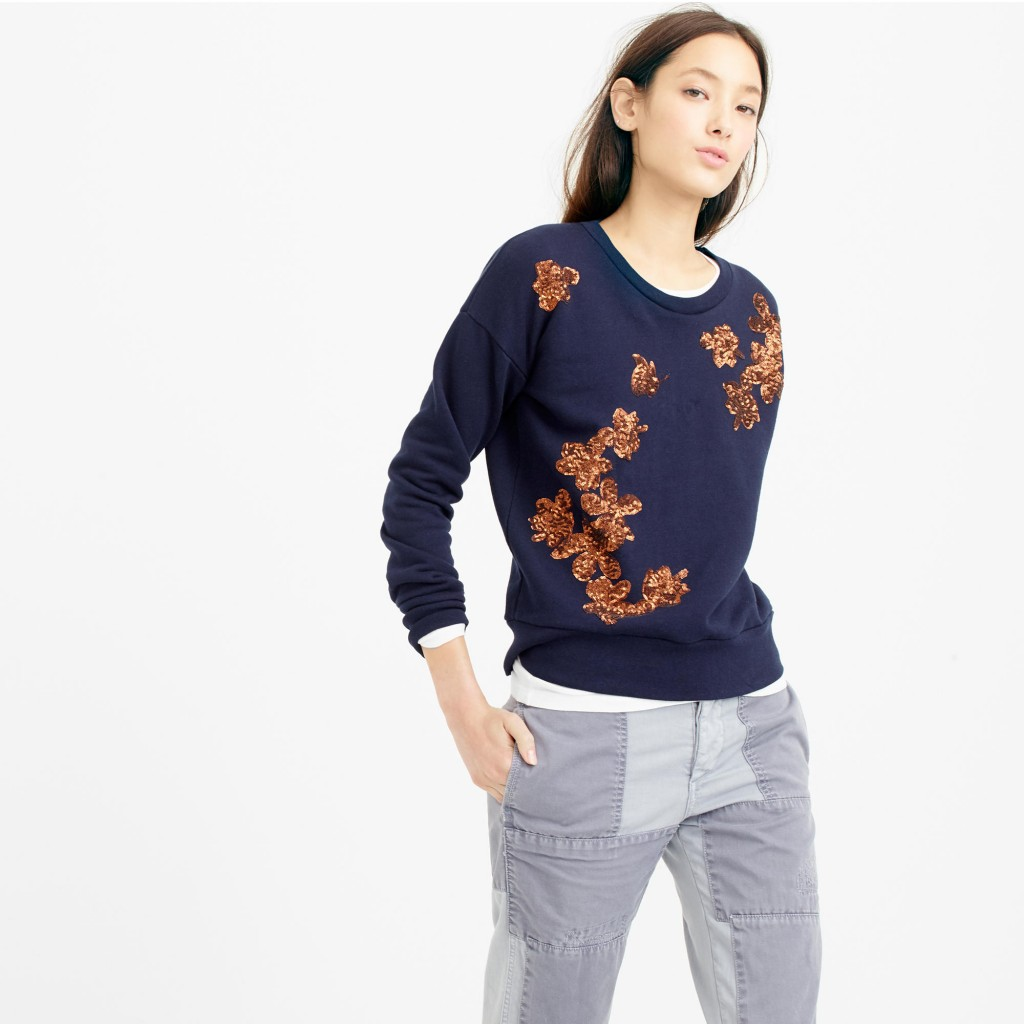 Styleimprimatur_JCrew_Sequined_Floral_Sweatshirt_Runway_Product_Outfit_Fashion_Shopping_Blog