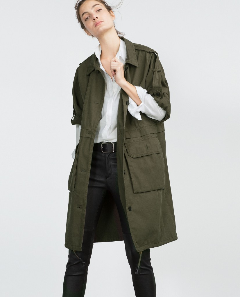 Styleimprimatur_Zara_Khaki_Parka_Roll_Up_Sleeves_Runway_Product_Outfit_Fashion_Shopping_Blog